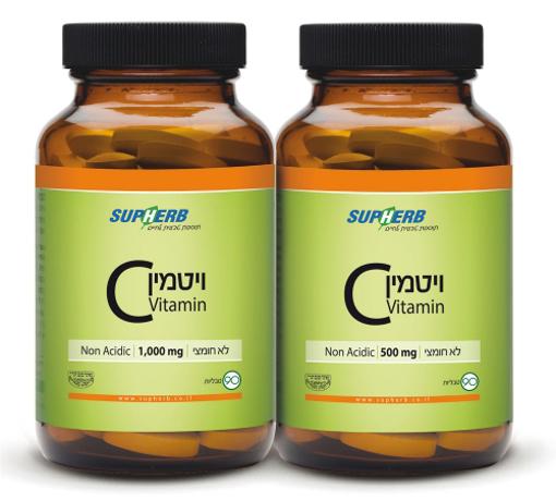 תמונה של ויטמין C-500 לא חומצי
