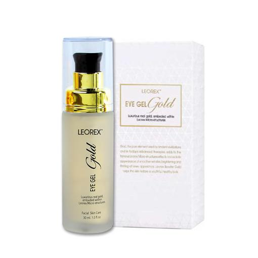 תמונה של לאורקס ג'ל עיניים מסדרת הזהב LEOREX Gold Eye Gel 30ML