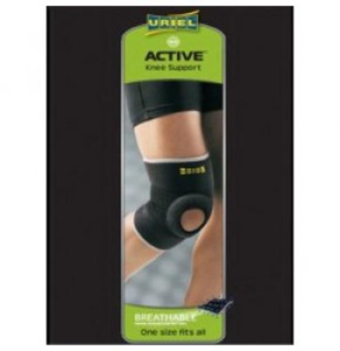 תמונה של מגן ברך עם תמיכה URIEL Active Knee Support אוריאל