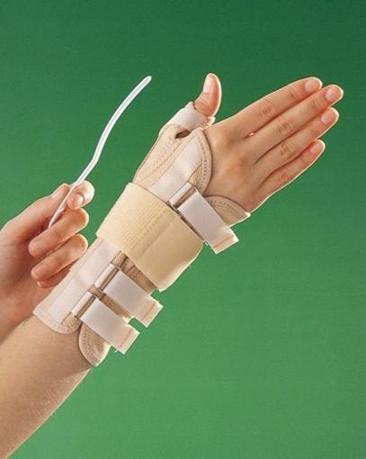 תמונה של תומך שורש אלסטי לכף היד עם מגן אגודל של חברת OPPO דגם 3182
