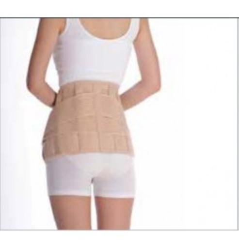 תמונה של חגורת גב אוורירית עם חיזוקים וסגירה כפולה EUNICE MED Lumbar Support